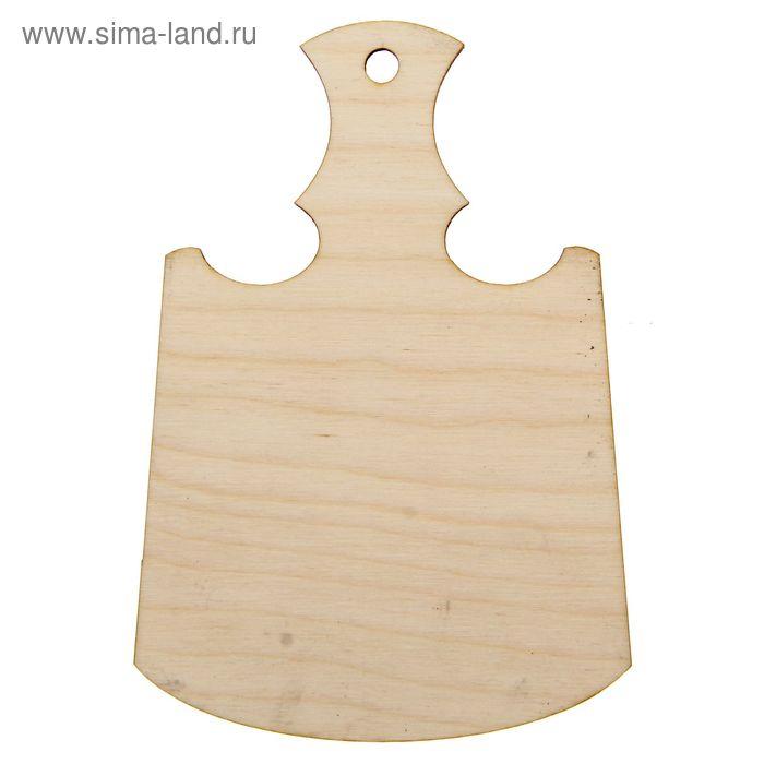 Декоративная разделочная доска №5 малая 13,6х22,4 см (80554)
