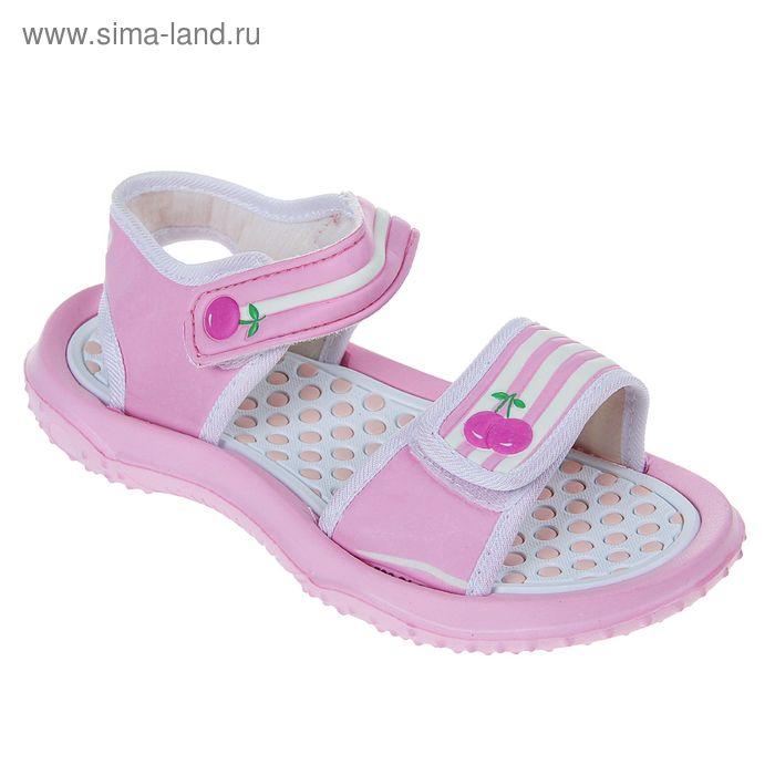 Туфли пляжные детские Forio, цвет розовый, размер 35 (арт. 258-4807)