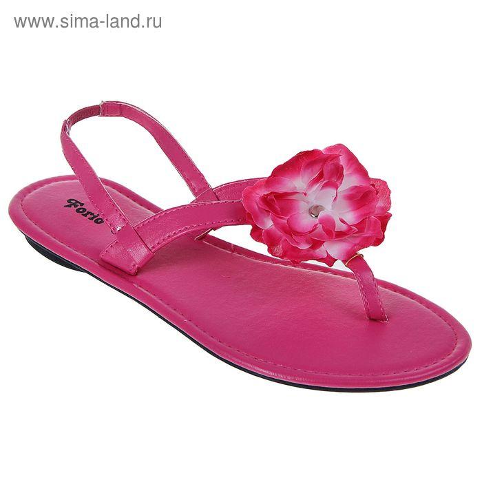 Сандалии женские Forio, цвет розовый, размер 37 (арт. 355-002)