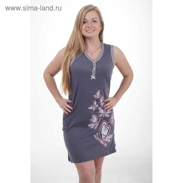 Платье женское, цвет серый, размер 44 (арт. 30766)