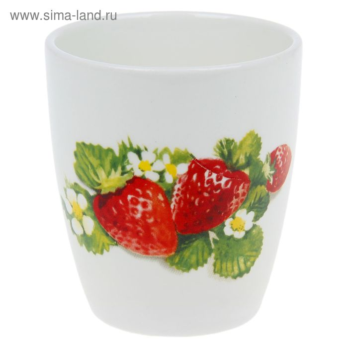 """Стакан 220 мл """"Клубника новая"""""""