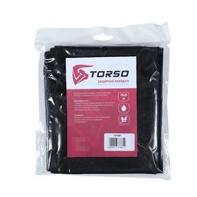 Защитная накидка на сиденье TORSO, 110х50 см, черная