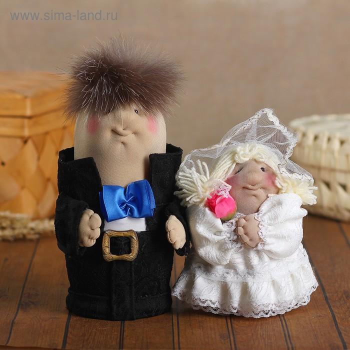 """Сувенир -шкатулка """"Жених и невеста"""" 20,15 см микс"""