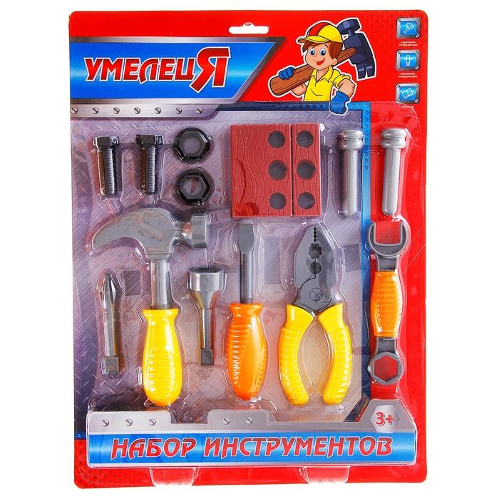 Набор инструментов с плоскогубцами, 14 элементов