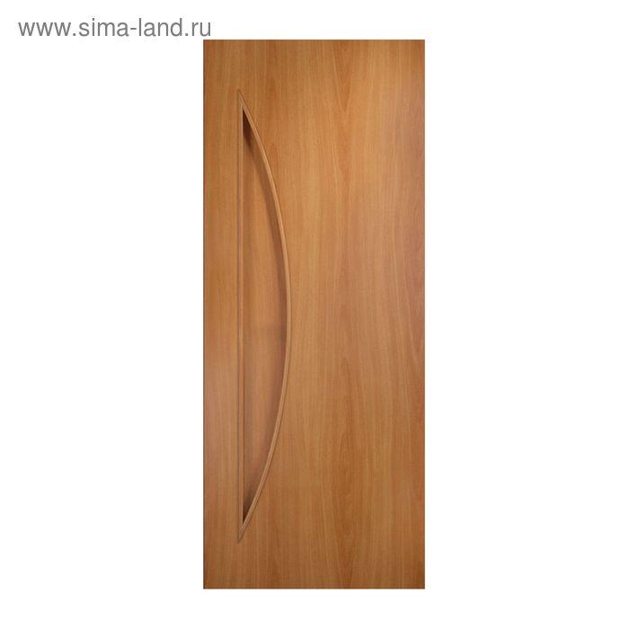 Дверное полотно глухое  С-6 Миланский орех 2000х600