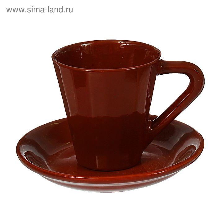"""Чашка """"Ностальгия"""" №1 с блюдцем 0,25 л"""