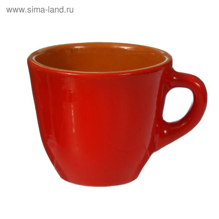 Чашка для чая красный 0,3 л