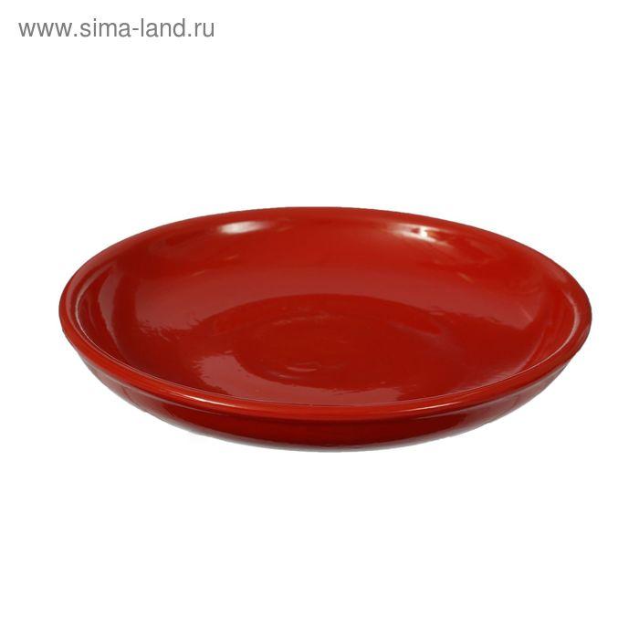 Миска для вторых блюд красный 18 см