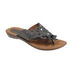 Туфли летние женские открытые, цвет чёрный, размер 38 (арт. 143-472 EW)