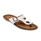 Туфли летние мужские открытые, цвет белый, размер 44 (арт. 143025-2 EМ)
