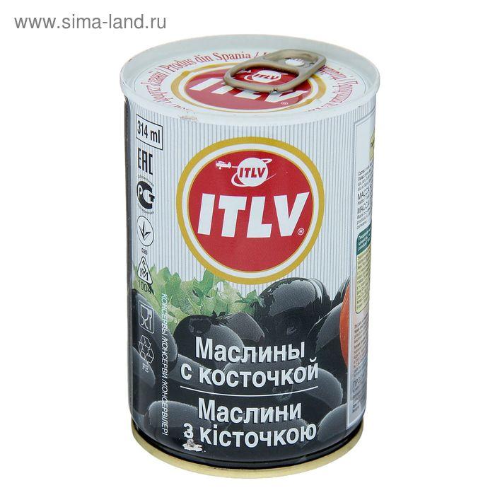 """Маслины с косточкой ТМ """"ИТЛВ"""" ,314 мл"""