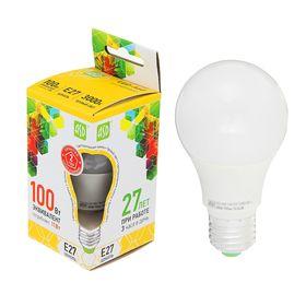 Лампа светодиодная ASD, Е27, 11 Вт, 160-260 В, 3000 К, 990 Лм