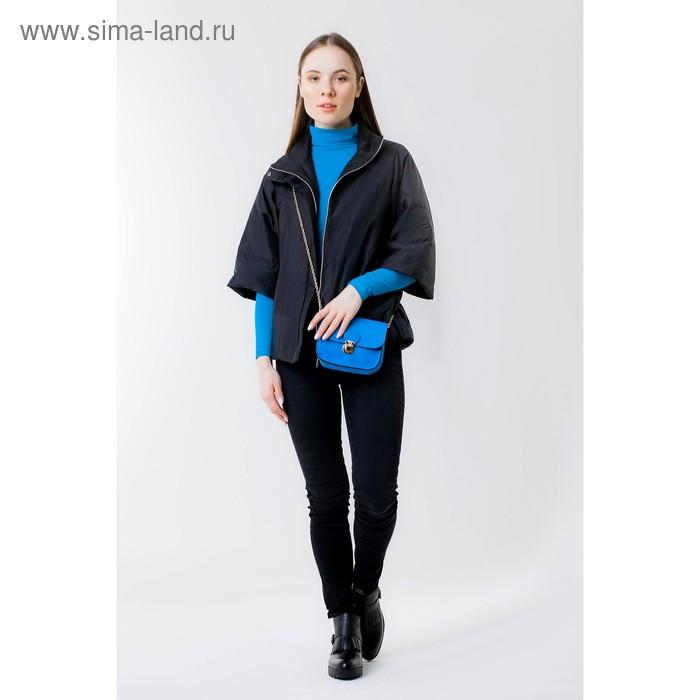 Куртка женская, рост 168 см, размер 44, цвет чёрный (арт. 63)