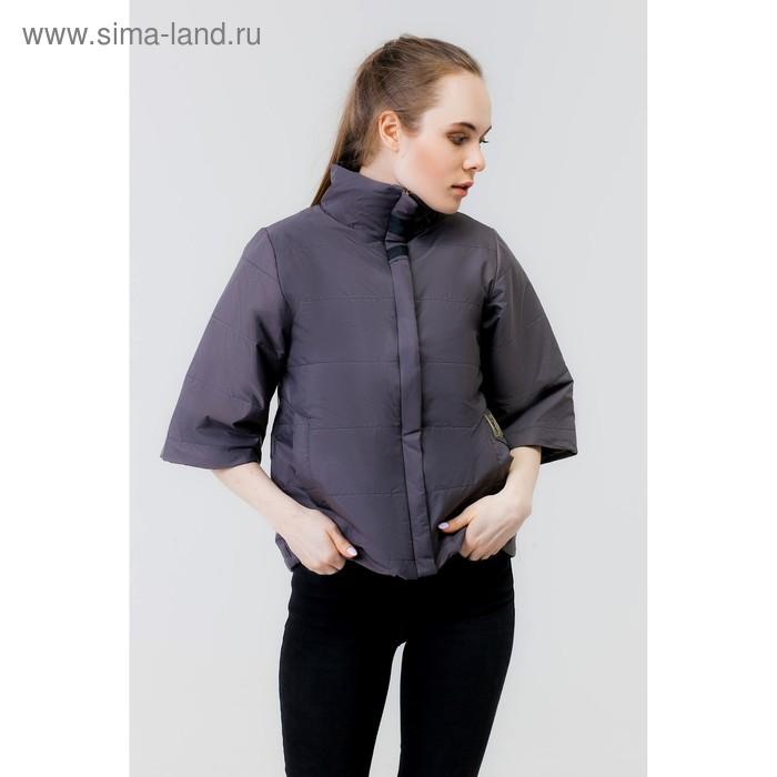 Куртка женская, рост 168 см, размер 44, цвет асфальт (арт. 63)