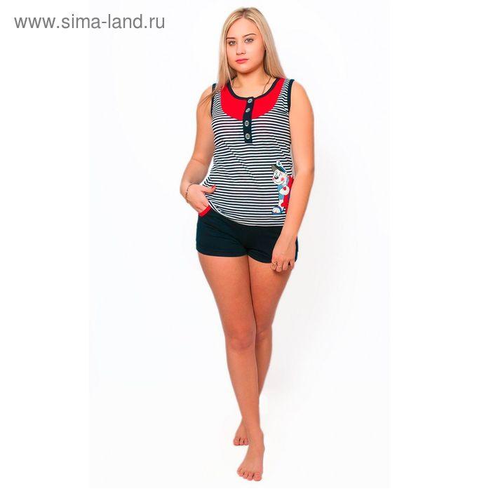 Комплект женский (майка, шорты) ТК-981 МИКС, р-р 48