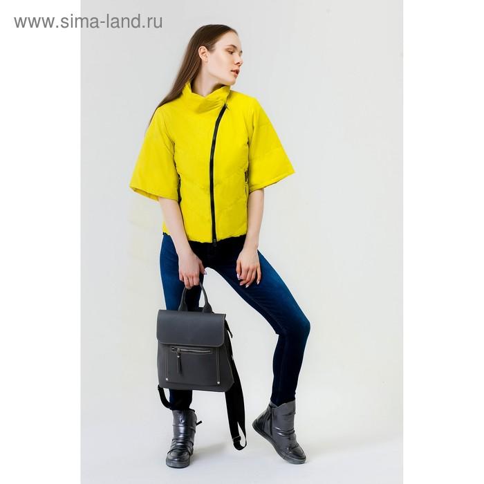 Куртка женская, рост 168 см, размер 50, цвет лайм (арт. 39 С+)