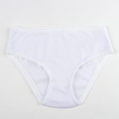 Трусы для девочки, рост 110 см (5 лет), цвет белый (арт. К338)