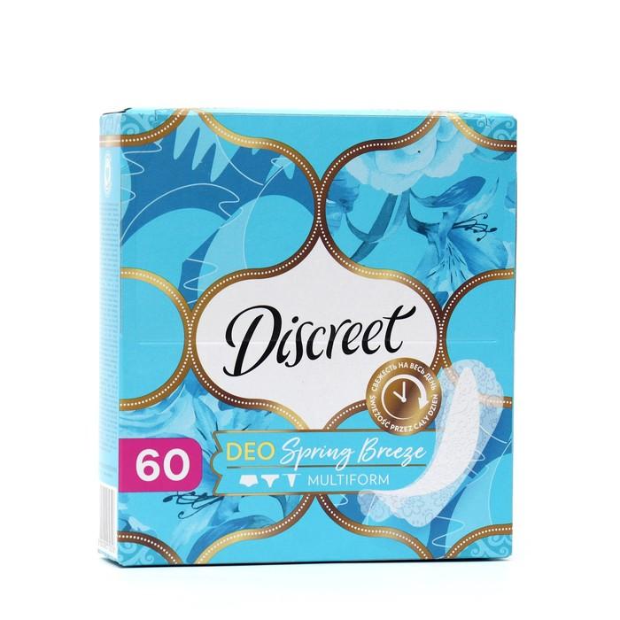 """Прокладки ежедневные Discreet Deo """"Весенний бриз"""", 60 шт"""