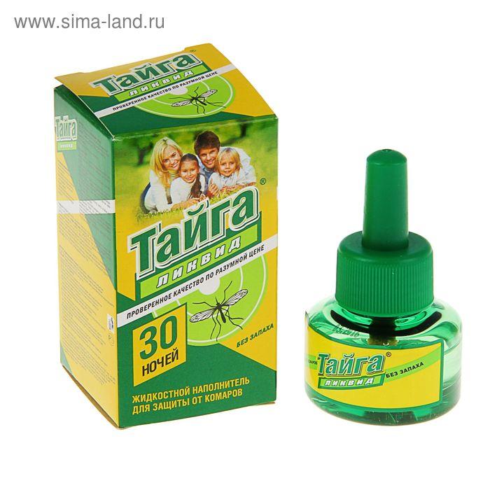 Жидкостной наполнитель от комаров Тайга Ликвид, 30 ночей