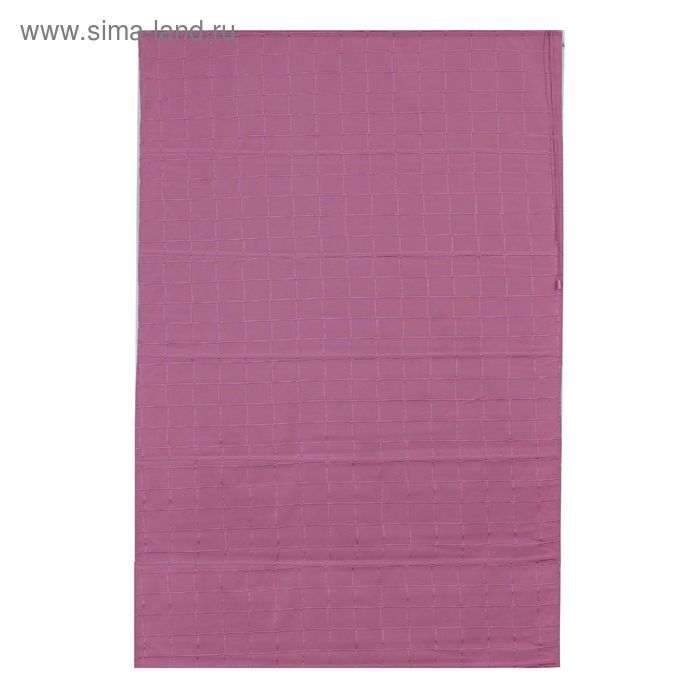 Римская тканевая штора 100х160 см Ammi, цвет розовый