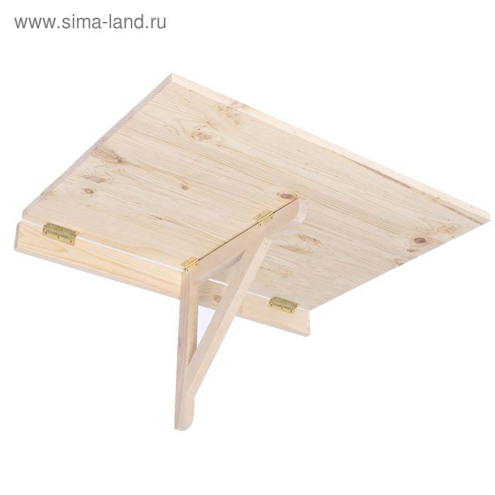 Стол из массива березы 750*600