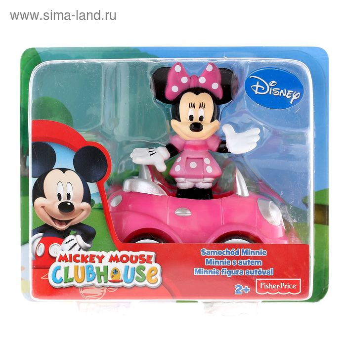 "Машинка ""Mickey Mouse"", МИКС"