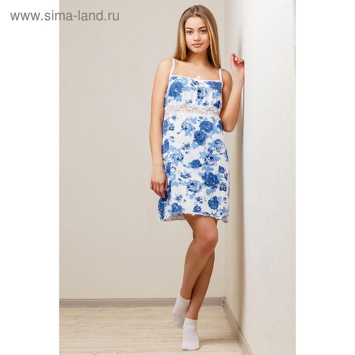 Сорочка женская, цвет белый, размер 52 (арт. 8395)