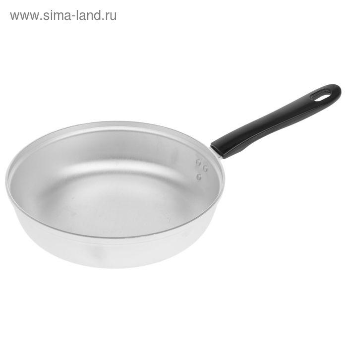 Сковорода, d=22 см, без крышки, пластмассовая ручка