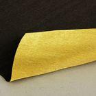 Бумага гофрированная 801/7 золото-темный каштан металл, 50 см х 2,5 м
