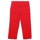 Джинсы для девочки, рост 98 см, цвет красный CK 7J046_Д