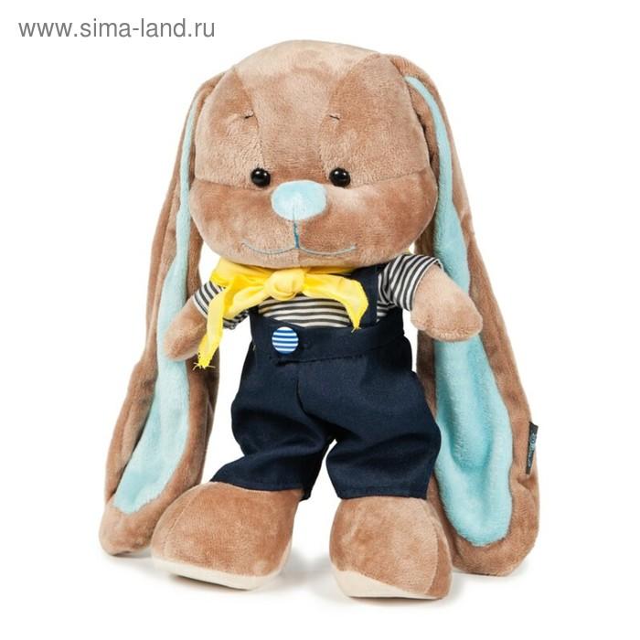 Мягкая игрушка «Зайчик Жак в морском костюмчике»