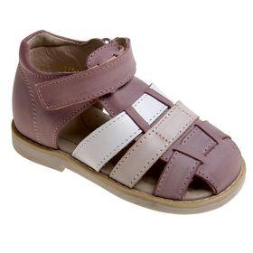 Туфли открытые дошкольные Зебра, арт. 10700-20 (сиреневый) (р. 27)