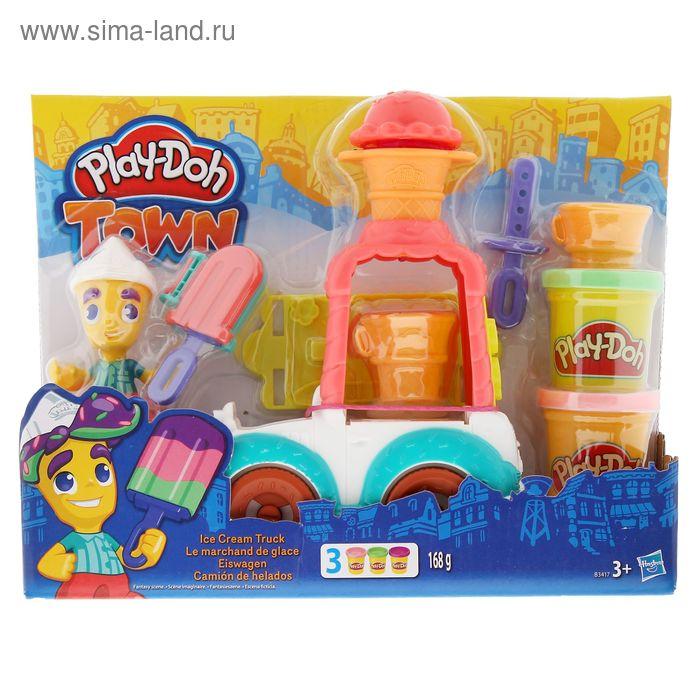 """Игровой набор для лепки """"Город. Фургон мороженого"""""""