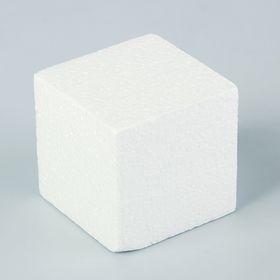 """Флористическая основа """"Куб"""", 8 см"""