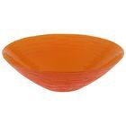 """Салатник d=30 см """"Риски"""" 1,8 л, цвет оранжевый"""