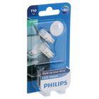 Лампа автомобильная Philips, W5W, 12 В, 1 Вт, LED 4500K, набор 2 шт.