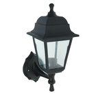 Светильник TDM, садово-парковый, настенный, четырёхгранник, чёрный, SQ0330-0704