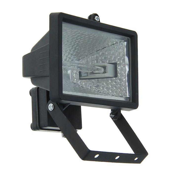 Прожектор галогенный TDM ИО150, IP54, чёрный, SQ0301-0002