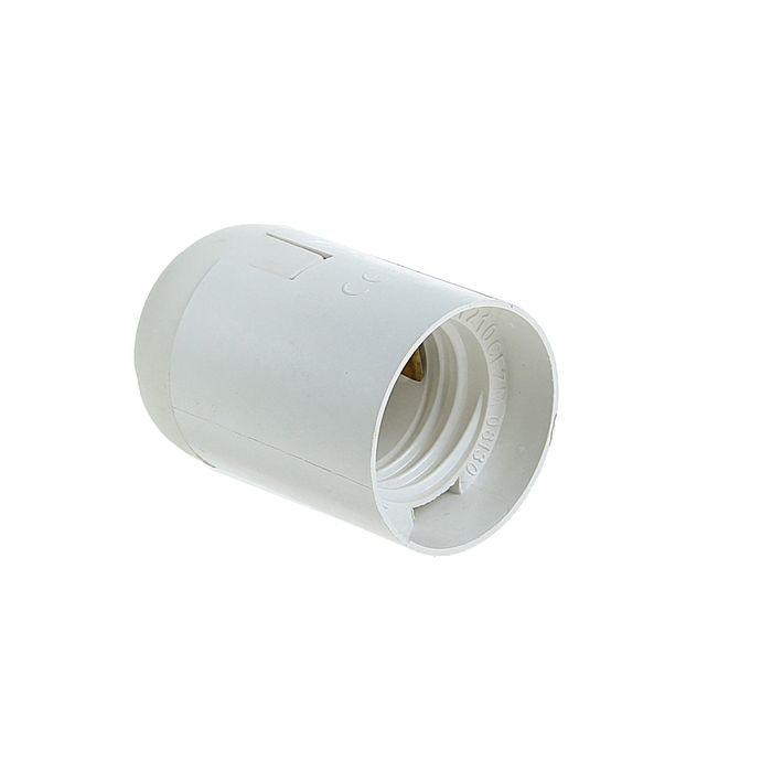 Патрон TDM, Е27, подвесной, термостойкий пластик, белый, SQ0335-0007