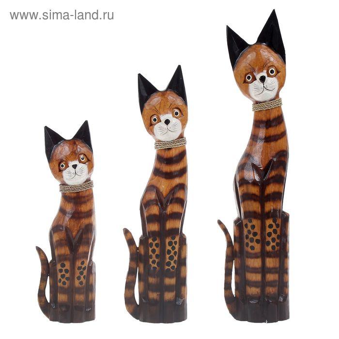 """Набор сувениров """"Кошки Медан"""" 3 шт.: 40,50,60 см"""