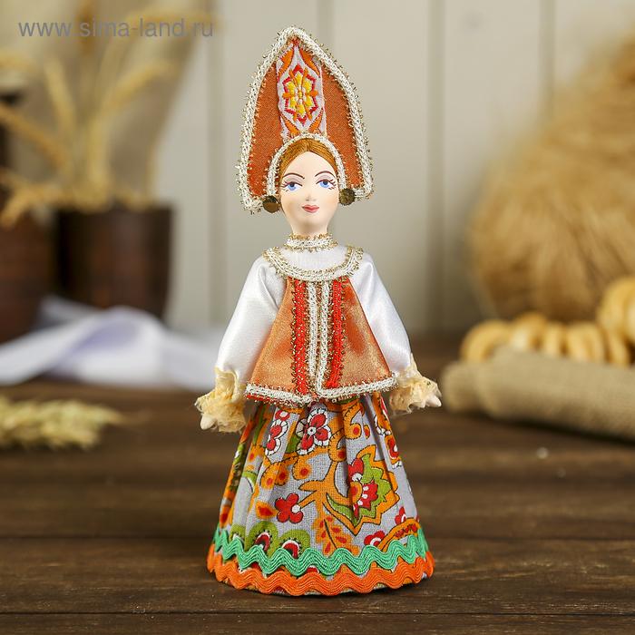 """Сувенирная кукла """"Маргарита"""" в традиц. праздничном костюме, к. 18 -н. 19 в. Русь"""