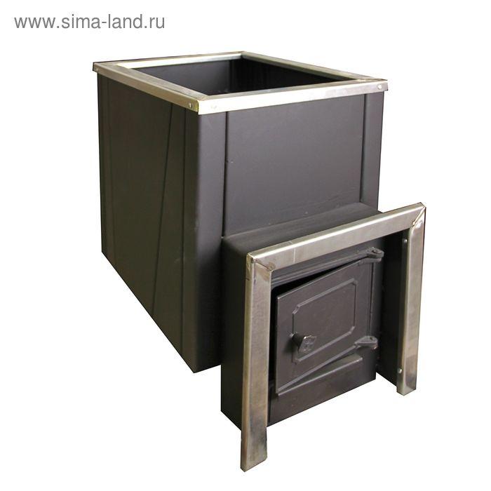 Банная печь Аргус 600 со встроенным теплообменником