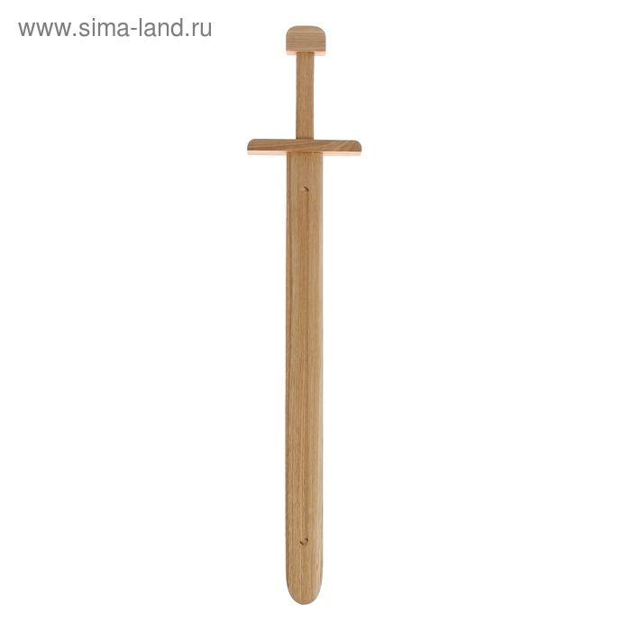 Деревянный меч 60 х 5 см, дуб