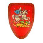 Деревянный щит «Георгий Победоносец»
