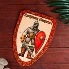Деревянный щит «Богатырь»
