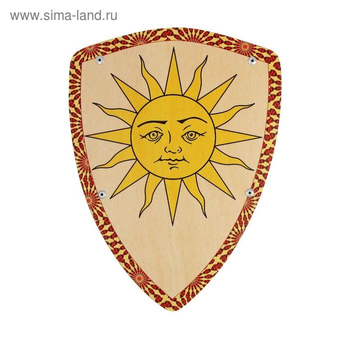 Деревянный щит «Солнышко»