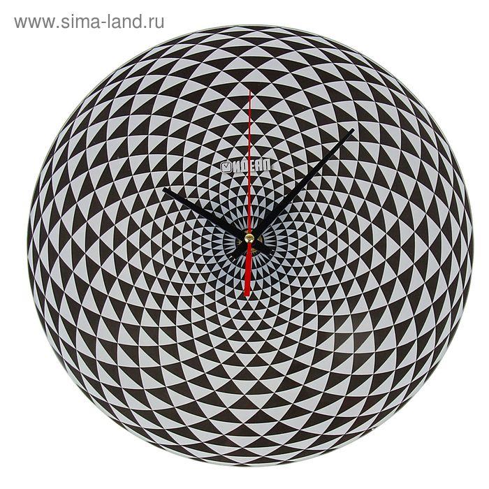 """Часы настенные """"Ингрия"""", стекпо,круг,28х28см"""