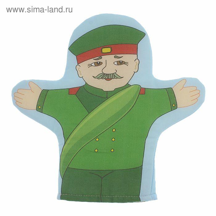 """Кукла-рукавичка """"Солдат"""""""