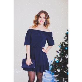 Платье женское 71167  цвет синий, размер S-M (42-44), рост 168