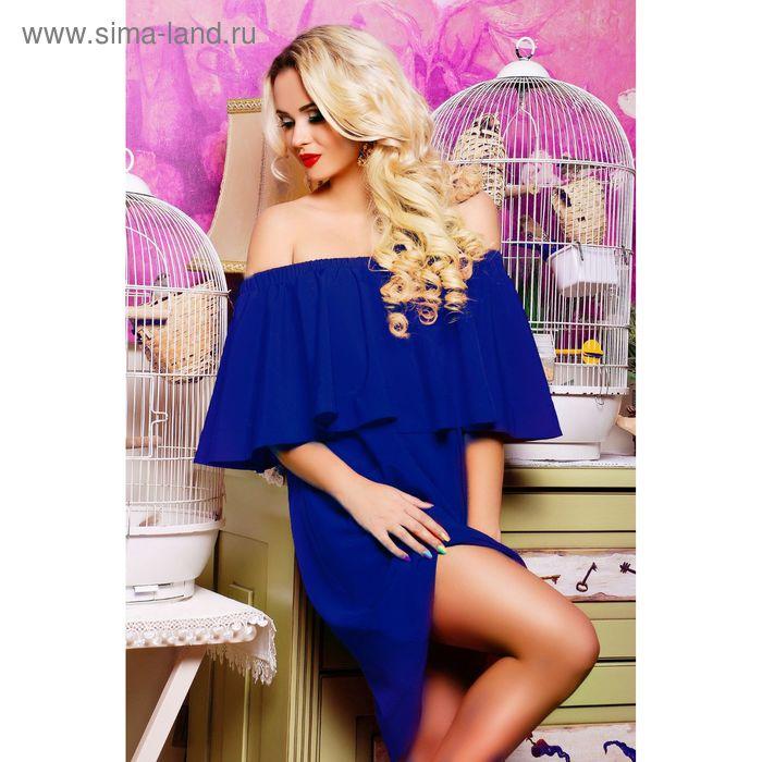 Платье женское, цвет электрик, рост 168 см, размер XXL (50) (арт. 71168 С+)